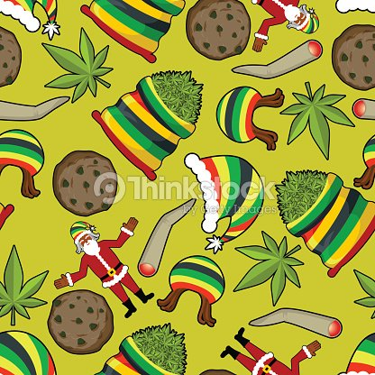 rastaman muster rasta santa claus ornament gro e. Black Bedroom Furniture Sets. Home Design Ideas