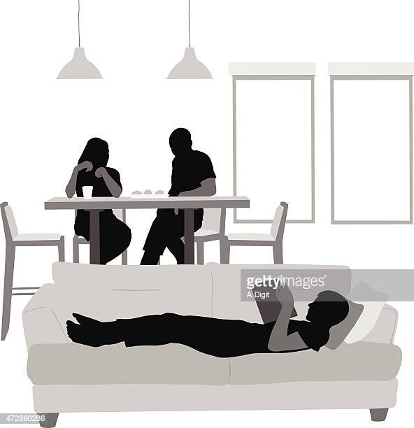Dining Room Stock Illustrations And Cartoons Getty Images