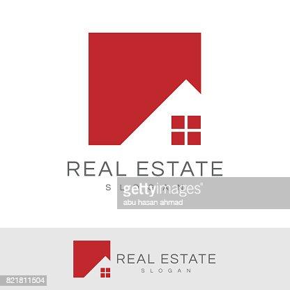 real estate icon : Vector Art