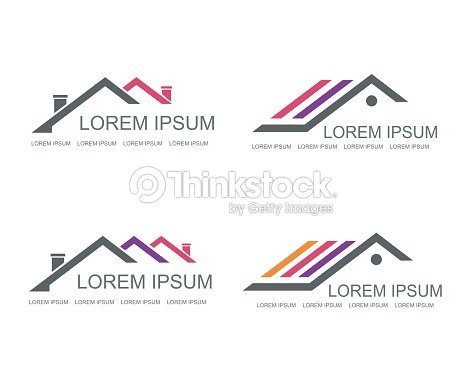Real Estate Vector Logo Design Template Art