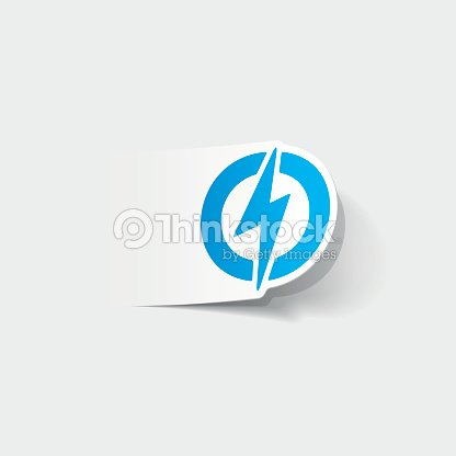 Realistic Design Element Lightning Bolt Vector Art | Thinkstock
