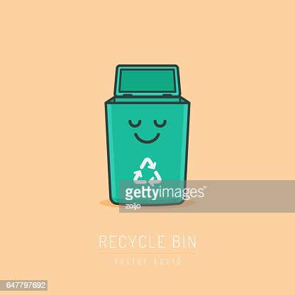 Recycle Bin : stock vector