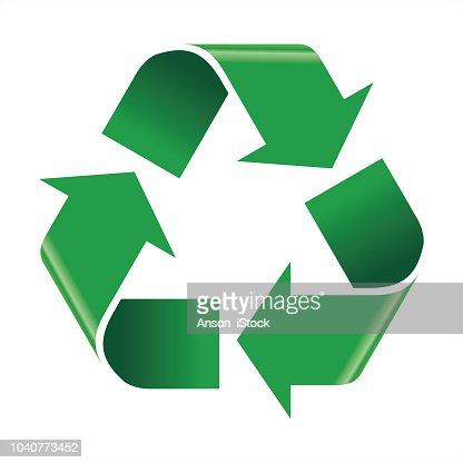 Recycle icon vector : stock vector