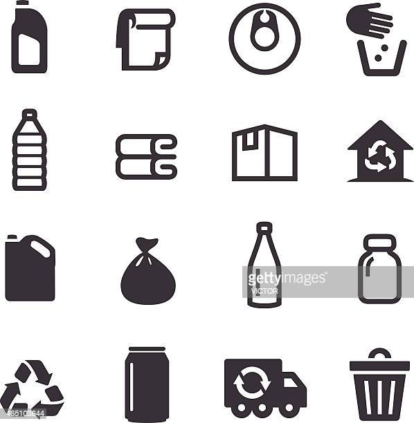 Recycling Icons - Acme Series