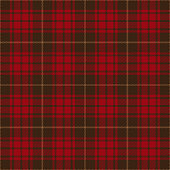 Red and brown seamless traditional tartan plaid pattern design.