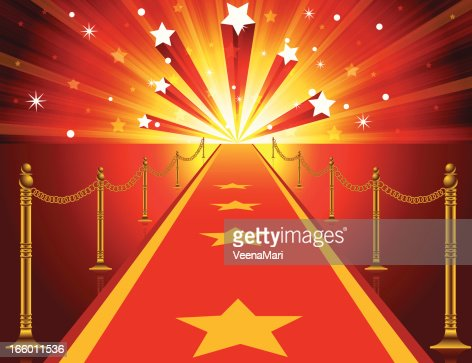 Red Carpet Background Vector Art | Getty Images