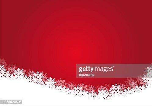 Red christmas background, illustration. : Vector Art