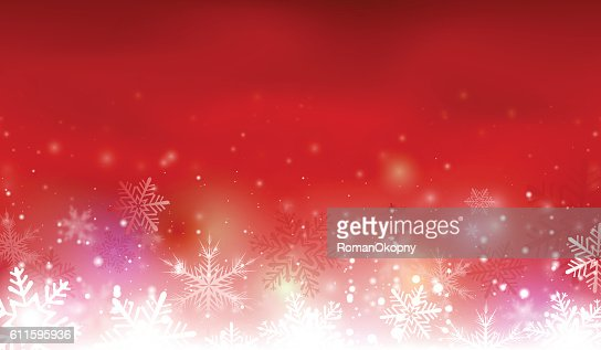 Red christmas background : Vector Art