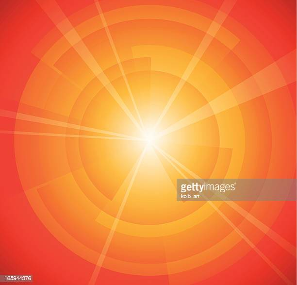 Red light spectrum ray