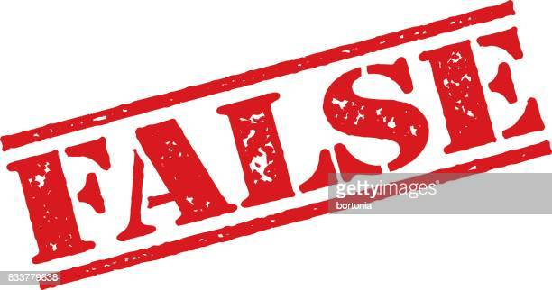 Red Rubber Stamp Icon on Transparent Background