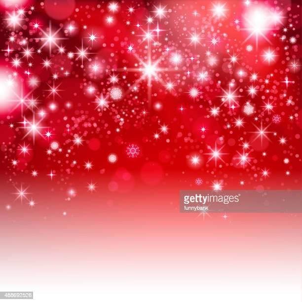 red shining christmas