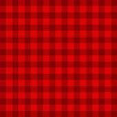 Red tartan pattern