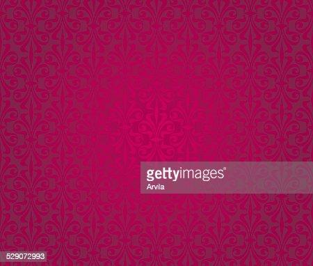 Arriereplan De Papier Peint Vintage Rouge Clipart Vectoriel Thinkstock