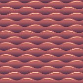 Red water waves seamless vector background texture