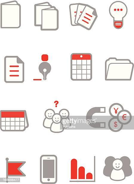Red widgets