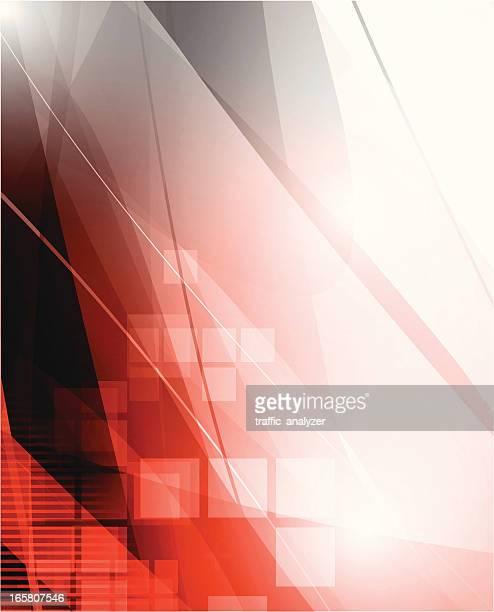 Fond rouge/gris