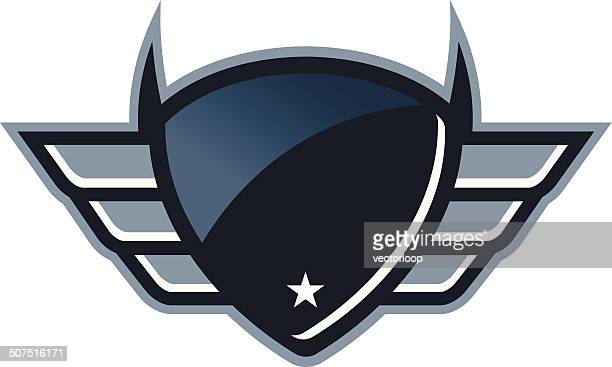 Reflective Winged Shield