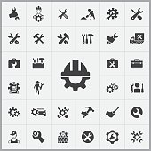 repair icons universal set for web and mobile