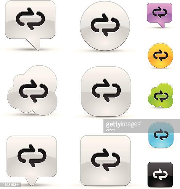 repeat icon set