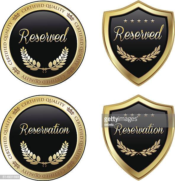Reserved And Reservation Emblems