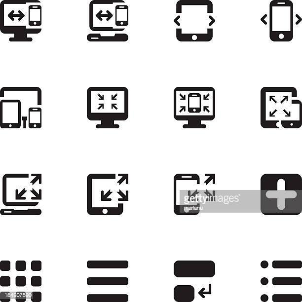 Responsive Design Icons 2 - Pixel Perfect