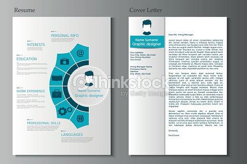 Lebenslauf Und Anschreiben Sammlung Moderne Cv Mit Infografiken ...