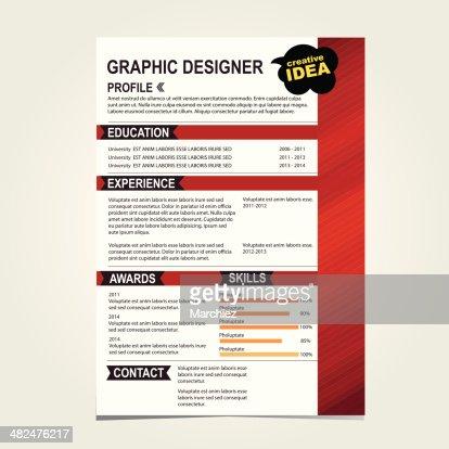 resume background