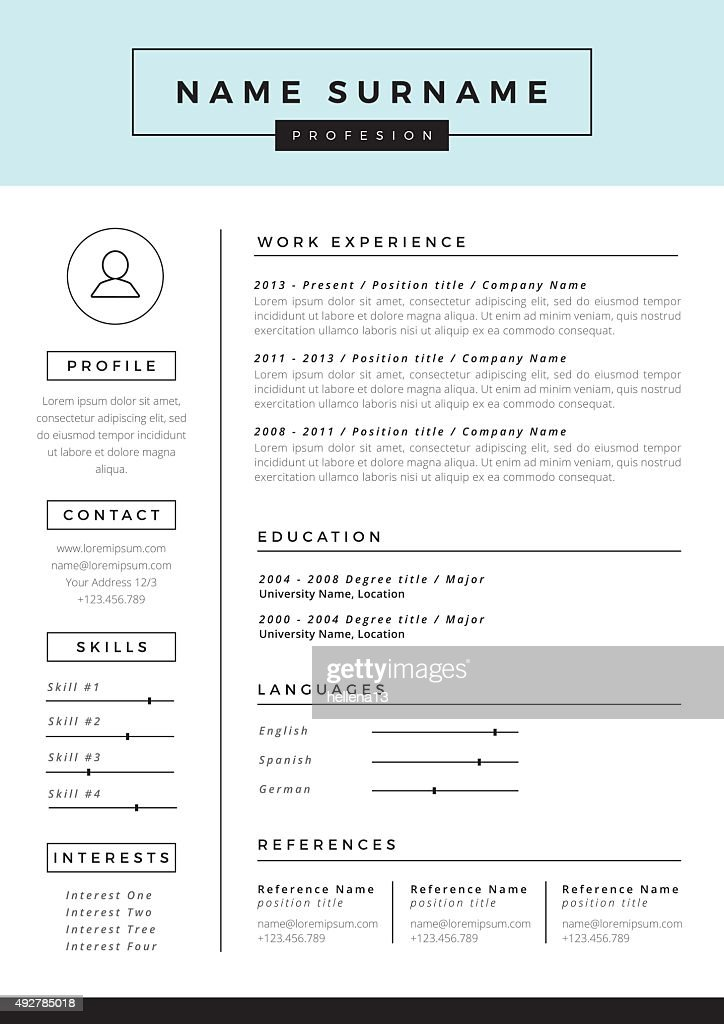 Art Resume Template » Artist Cv Template Templates Resume Word
