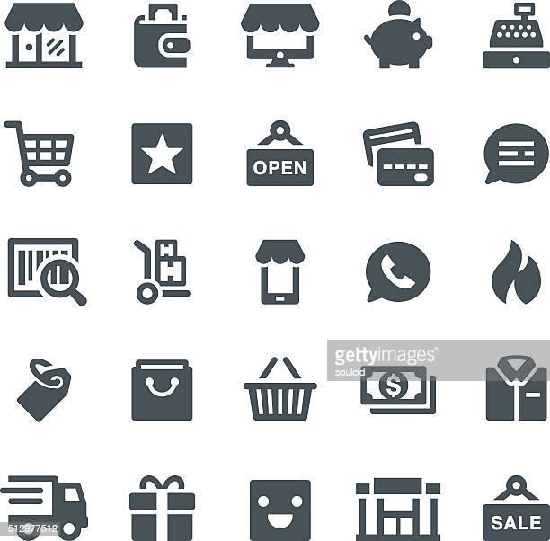 Icônes de vente