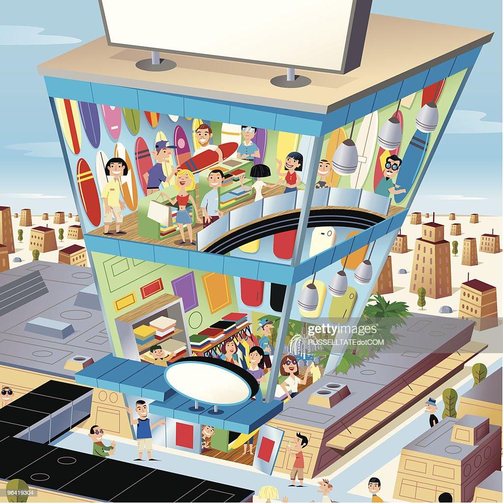 Retail Industry : Vector Art