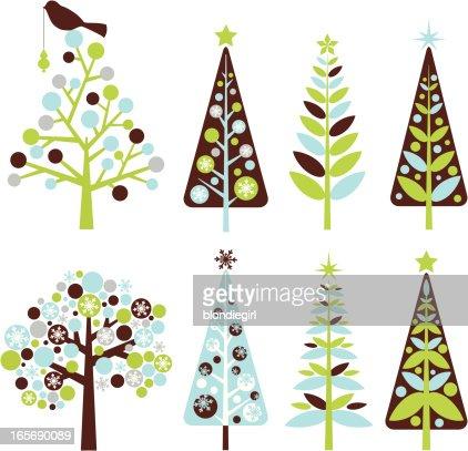keywords - Retro Christmas Tree