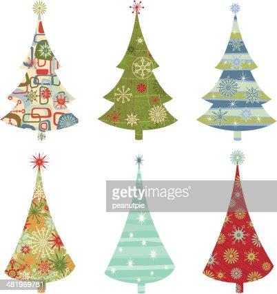 keywords - Retro Christmas Trees