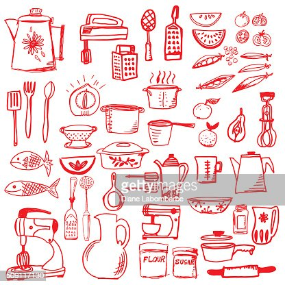 Pots And Pans Drawing Stock Illustrations And Cartoons Getty Images