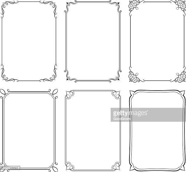 Retro frame set