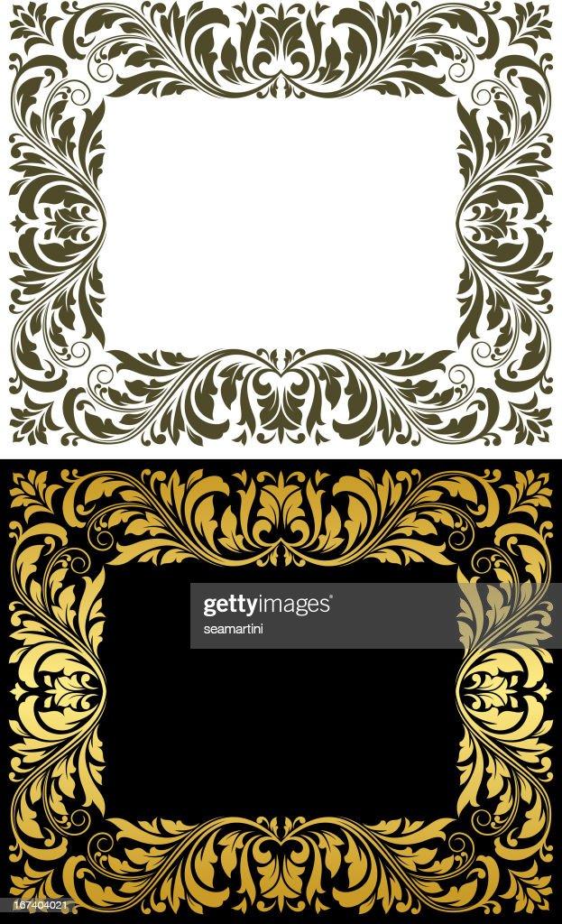 Retro frames : Vector Art