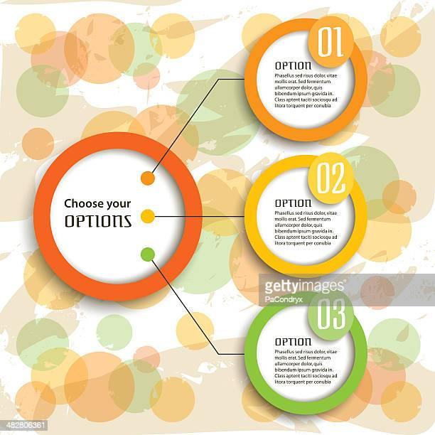 Retro Infographic Options