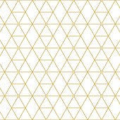 Elegant retro pattern gold squares. Fashion style.