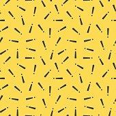 Retro pattern - seamless background. Fashion 80-90s.