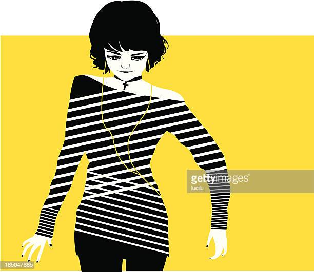 retro / punk girl