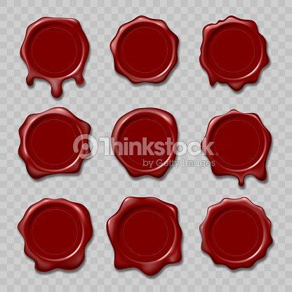 Retro Seal Wax Stamps For Certificate And Document Letter Envelope Protection