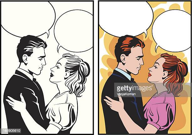 Retro Style Couple