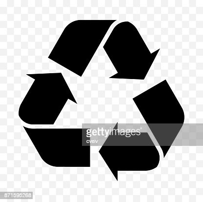 reuse, recycled icon : stock vector