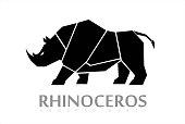 Sideview Full body Rhino