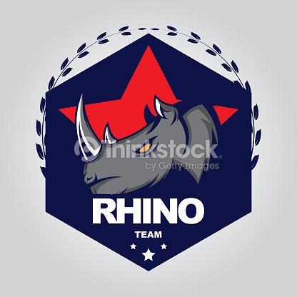 rhino design template vector art thinkstock