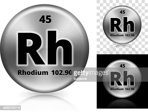 Rhodium Circle Element Background Set Vector Art | Getty ... Rhodium Element Project