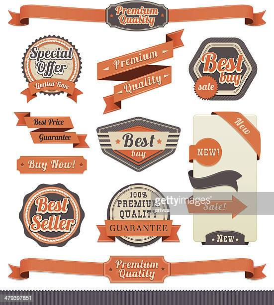 Ribbon and Badge Set