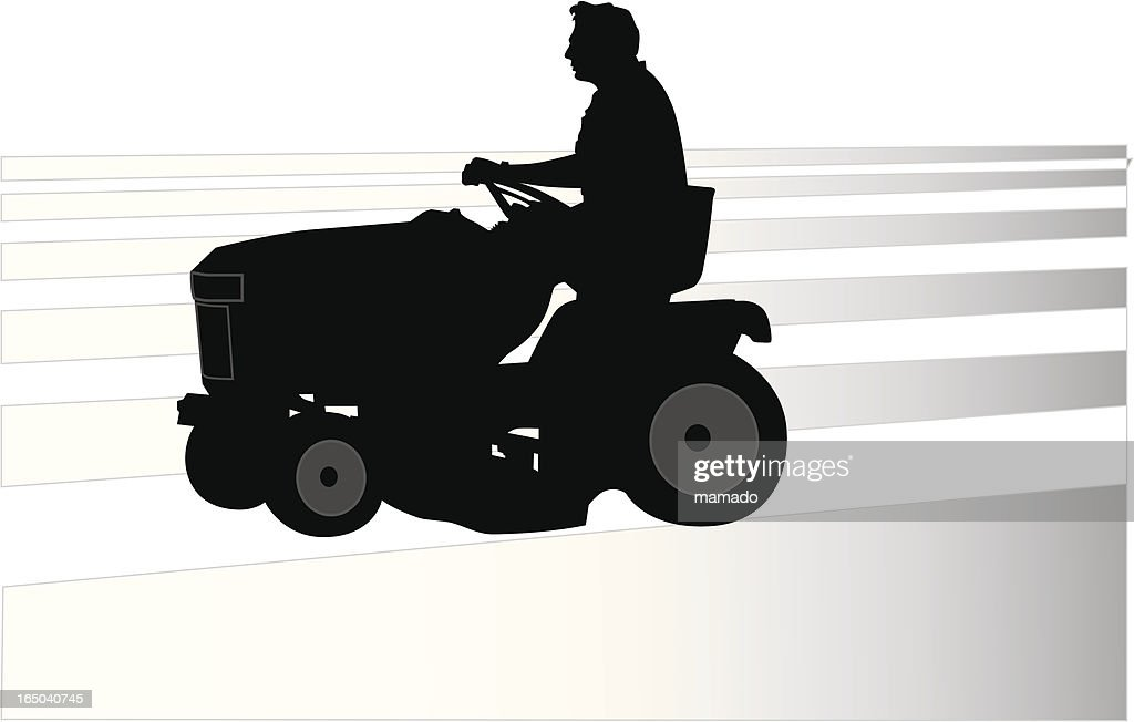 Riding Lawnmower Vector Art | Getty Images