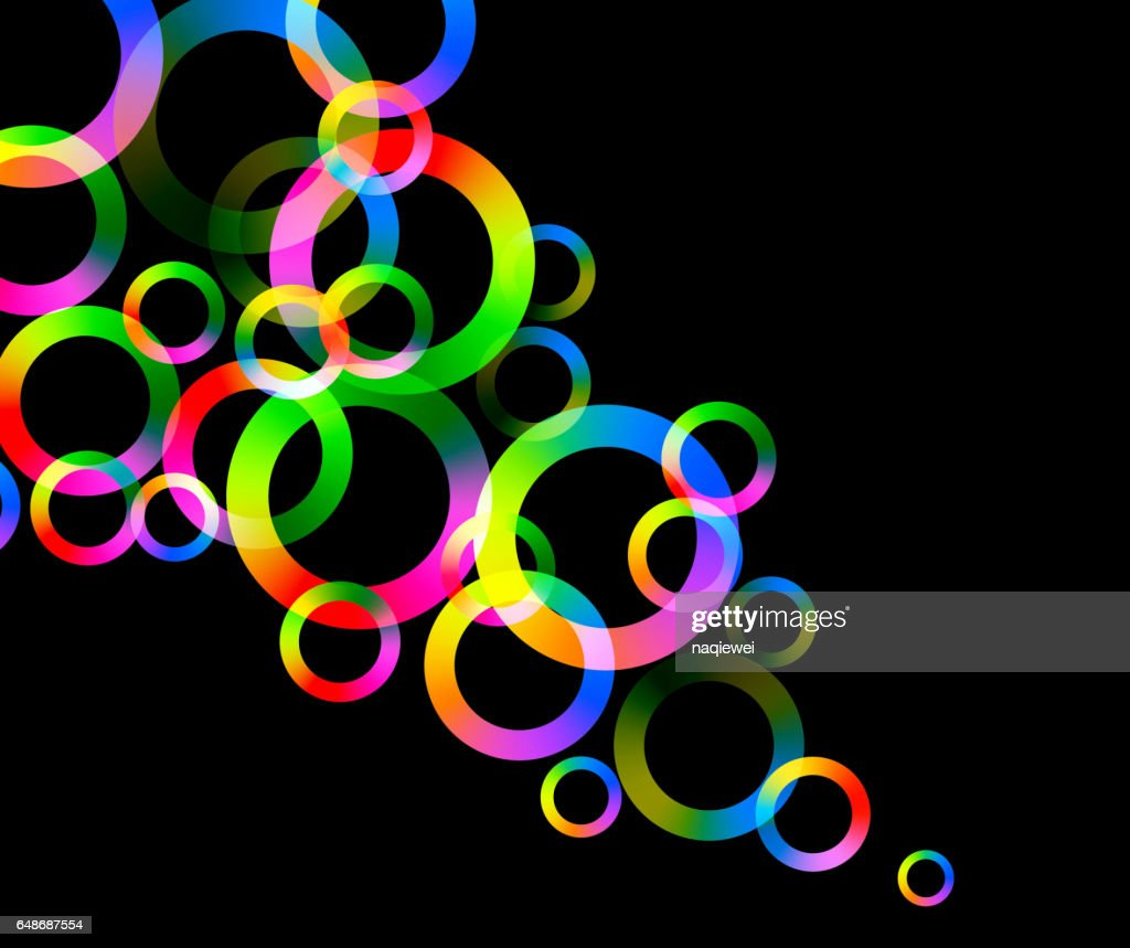 ring pattern background : Vector Art