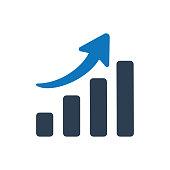 Rising Chart Icon