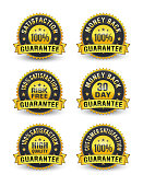 100% SATISFACTION GUARANTEE badge will help the customer to understand that this product is well made and it will definitely meet their high expectation of usage. 100% MONEY BACK GUARANTEE badge will